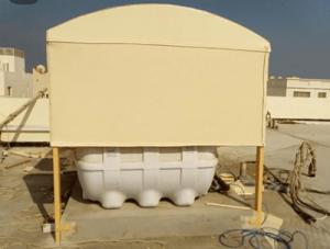 مظلات تغطية خزان ماء الاسطح في ابها وخميس مشيط