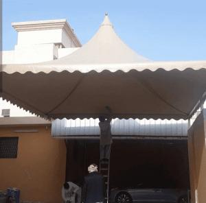 مظلات حدائق ابها وخميس مشيط (2)