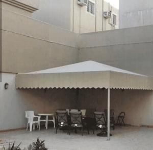 مظلات حدائق ابها وخميس مشيط وجيزان ونجران