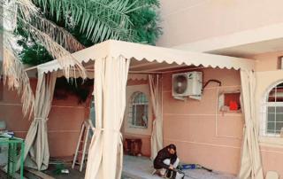 تركيب مظلات حدائق في ابها وخميس مشيط | جيزان | عسير محايل نجران