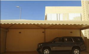 صور مظلات سيارات في ينبع