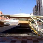 تركيب مظلات خارجية للسيارات مشاريع مظلات مواقف سيارات في عسير