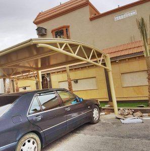 مظلات سيارة معلقه في خميس مشيط