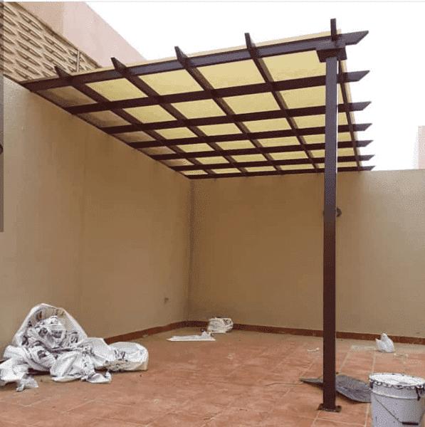 انواع مظلات الحدائق في الباحة