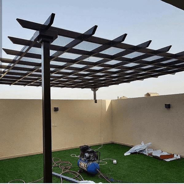 تركيب مظلات برجولات حدائق عسير 