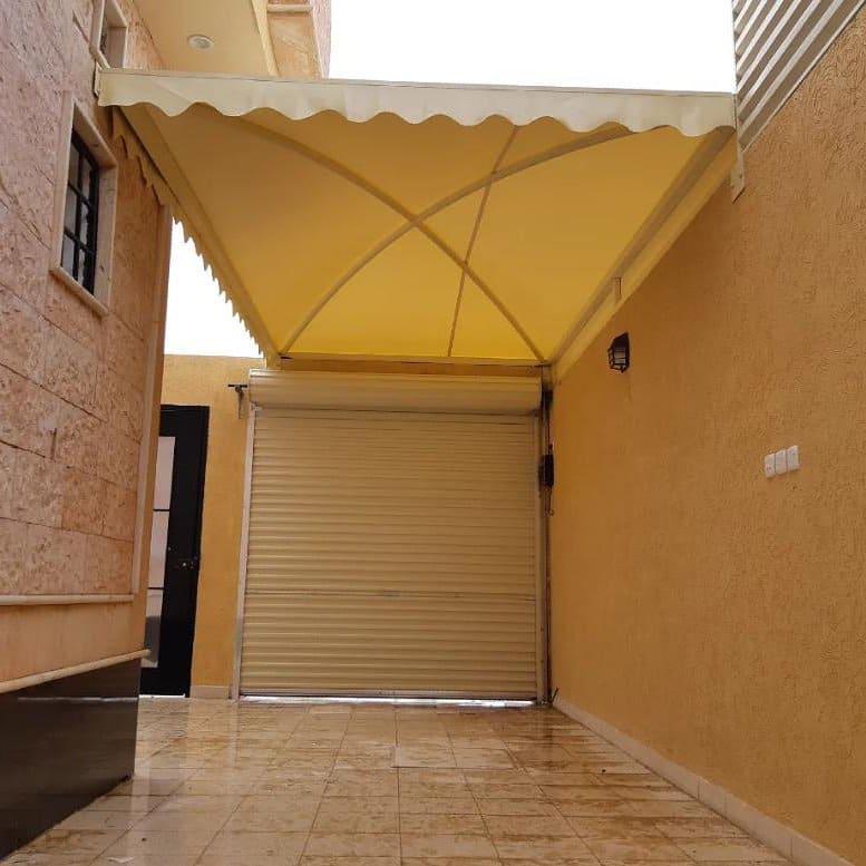 تركيب مظلات مداخل المنازل والفلل في عسير وابها وخميس مشيط