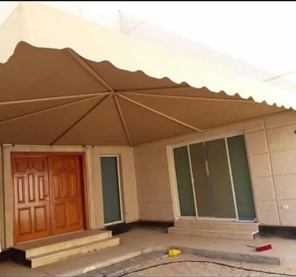 مظلات مداخل المنازل
