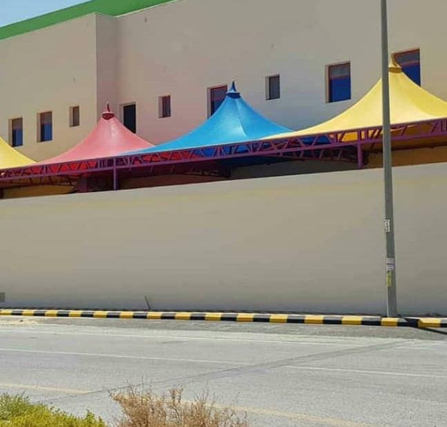 مظلات مدارس وجامعات في جدة وابها وخميس مشيط